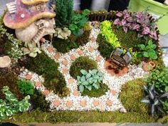 Miniature gardens rock! And other hot garden trends 2012! via @robbornstein: