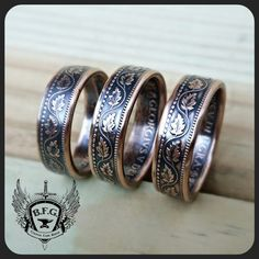 CANADIAN LARGE CENT coin ring.  This Listing is for 1 Coin Ring. PLEASE READ THE FULL LISTING BELOW ! This may help with questions you may
