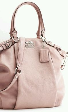 Blush coach bag. Perfect for everyday use