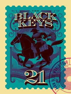 Tom Whale Black Keys Kansas City Poster