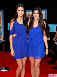 Kendall Jenner and Kylie Jenner twining it!! Wish my sisters would do that with me!