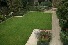 Garden Design London, Garden Spaces, Modern Family, Regency, Stepping Stones, Lawn, Sidewalk, Cottage, Landscape