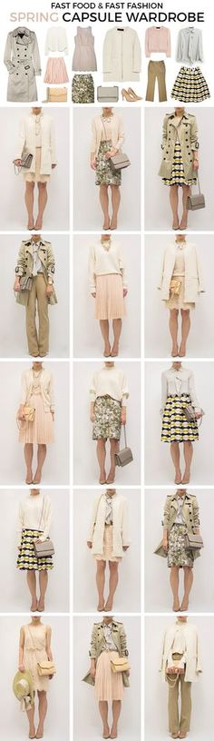 Spring Capsule Wardrobe for Transitional Weather