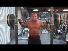 http://goepx.com  Wow over 400lbs. behind the neck press!Mariusz Pudzianowski Shoulder Training