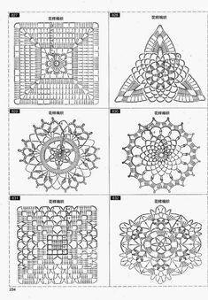 crochet home: crochet motifs