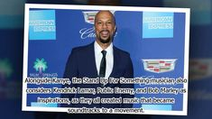 """Common has praised Kanye West as someone he """"admires"""".The 46-year-old rapper and actor and the 'Heartless' hitmaker both hail from Chicago and Common has revealed he has known the fellow musician since they were teenagers and has always thought of Kanye as """"courageous"""".He said: """"I've known him since he was 19 - he was always speaking out. Some of my friends wanted to fight him. I always admired him. There's courage - honesty there instead of being politically correct.""""Alongside Kanye the '"""