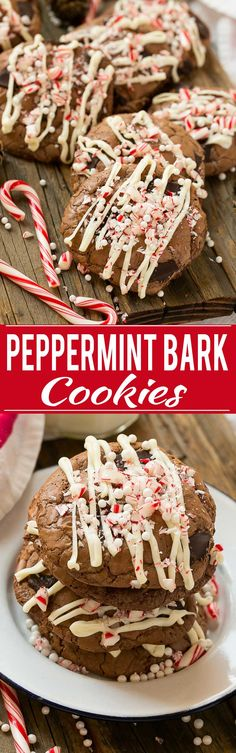 These peppermint bark cookies are fun, festive and simple to make, plus tips for throwing the perfect holiday baking party. #HolidayMoments ad @costco