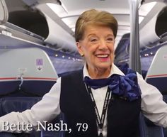 Meet The Most Senior Flight Attendant In The World - One Mile at a ...