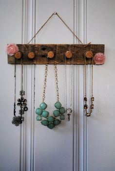 Wine Cork Jewelry Holder by ALittleDabWillDoYou on Etsy