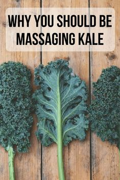 Turn the kitchen lights down, light some scented candles, and get your kale ready for a relaxing massage. I know it sounds silly to massage kale, but trust me you'll never NOT massage your kale Heart Healthy Recipes, Whole Food Recipes, Healthy Snacks, Healthy Cooking, Cooking Tips, Cooking Kale, Kale Salad, Quinoa Salad, Quinoa Rice