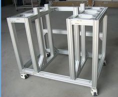 industrial aluminium profile modular assembly Hoonly aluminium can help you design the drawings.
