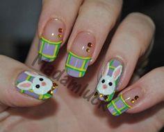 20 Easter Bunny Nail Art Patterns, Concepts, Trends & Stickers 2015   Nail Design #nail #nailart #naildesign #nailideas
