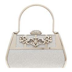 Rétro similicuir avec strass Occasion Wristlet / Evening Handbags spéciaux en métal et de – EUR € 32.99