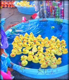 Family Fun & Activities: Duck Pond Carnival Game