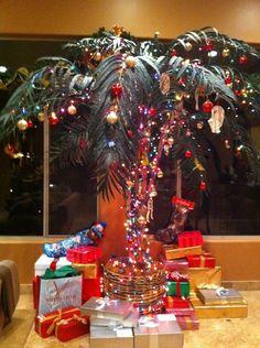 Festive & Ornamental Palm Tree.
