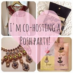 Join me on Sun. March 6th 3pm EST! I'm co-hosting my first posh party on Sunday, March 6th at 3pm EST! Party theme to be announced soon! I hope you can join me!   Other