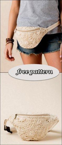 Latest And Unique Crochet Free Patterns DIY Rustics # Bum Bag Outfit Crochet Diy FREE latest Patterns Rustics unique Crochet Clutch Pattern, Crochet Belt, Bag Pattern Free, Crochet Diy, Unique Crochet, Crochet Handbags, Crochet Purses, Knitting Patterns Free, Crochet Patterns