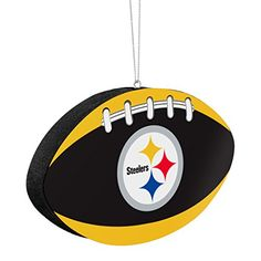 Pittsburgh Steelers Official NFL 4 inch Foam Christmas Ball Ornament by Forever Collectibles 241558 *** Continue to the product at the image link.