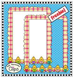 Spring frame freebie! #clipart http://www.teacherspayteachers.com/Product/Spring-Frame-Freebie-1191129