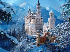 The amazing Neuschweinstein Castle