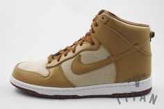 huge selection of 4c8b3 61452 TITAN EXCLUSIVE  NIKE DUNK PREMIUM HIGH SP  ACORN  - Titan - For Love Of  The Game