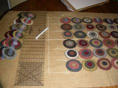 Penny Rugs and More: The Makings of a Penny Rug, by Colleen MacKinnon