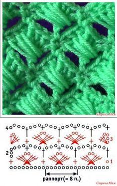 Crochet Flower Garden Stitch -