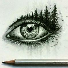 Astonishing eye pencil drawing amazing pencil drawings, amazing sketches, p Eye Pencil Drawing, Realistic Eye Drawing, Drawing Eyes, Pencil Art, Painting & Drawing, Drawing Artist, Amazing Drawings, Beautiful Drawings, Cool Drawings