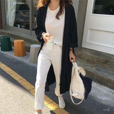 e1856794ed Buy Mimi Lulu Plain Long-Sleeve Shirt Dress