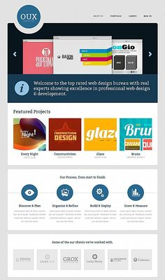 Oux Design Moto CMS HTML Templates by Ares