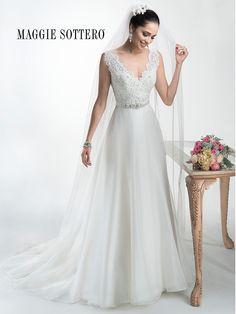 KleinfeldBridal.com: Maggie Sottero: Bridal Gown: 32969271: A-Line: Natural Waist