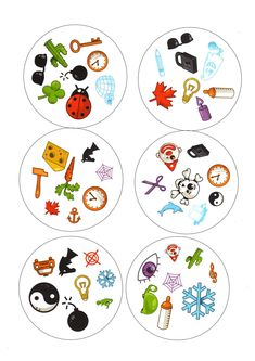 Classroom Activities, Activities For Kids, Visual Perceptual Activities, Printable Games For Kids, Circle Game, Games For Toddlers, Home Learning, Matching Games, Toddler Preschool