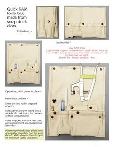 I love KAM snaps having discovered them this year - this is a useful guide 101+ uses for #sewingdirectory