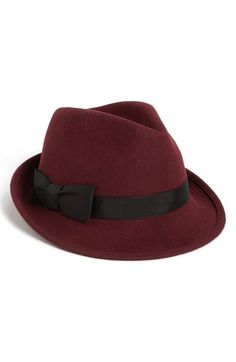 Nordstrom Wool Felt Trilby Hat available at #Nordstrom