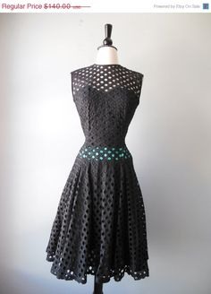 Memorial Day Sale 1950s dress / vintage by RockThatFrock on Etsy, $105.00