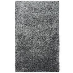 Rizzy Home Commons Co293A Black / White Area Rug 8 Feet x 10 Feet