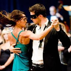 Sharni Vinson & Rick Malambri, Step Up 3 dance