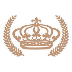 Banco Cadeira Mdf Coroa Princesa Príncipe Ramos Provençal - R$ 99,99 em Mercado Livre