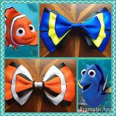 Nemo & Dorothy Inspired  Bows