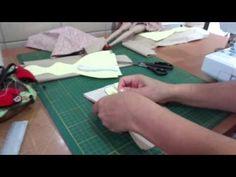 Tilda Parte 2 - Emendando os tecidos da boneca Tilda. - YouTube