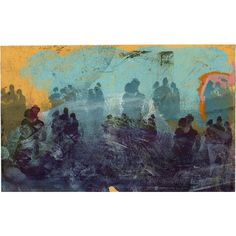 Purple Haze Night Dancers, Albert Hall, Chelsea Arts Ball, London (33 CHF) ❤ liked on Polyvore featuring home, home decor, wall art, textured wall art, ink drawing, purple flower wall art, paper wall art and cross wall art