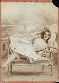 """Pretty Baby"" Famous Storyville prostitute that inspired the movie."