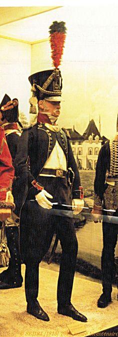 Officier infanterie légère Napoleonic Wars, Flag, Military, French, Museum, Emperor, Guns, French People, Science