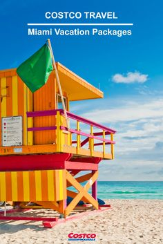 Miami Beach is famed for colorful art deco buildings, beautiful beaches and popular nightclubs.