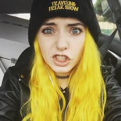 Yellow Hair Dye https://www.etsy.com/listing/281121510/new-color-yellow-hair-dye Lunar Tides Hair