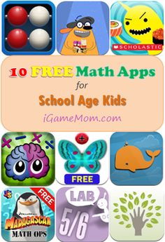 10 FREE Math Apps for Elementary School ~ Handy!