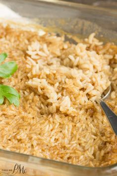 One Pan Stick of Butter Rice recipe is buttery, flavorful, and the easiest side dish you'll ever make! It's a tasty, simple, and versatile side that goes with chicken, pork, and beef!