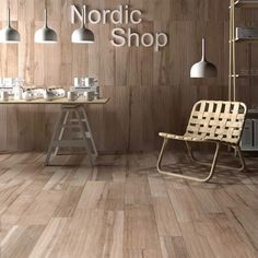 Soleras Ceramic Tile ABK -- Mock timber durable