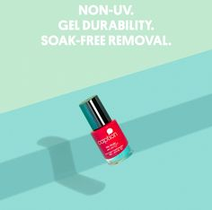 We love this nail polish it last forever and doesn't ruin your nails!! New beauty musthave - CAPTION nail polish