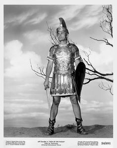Jeff Chandler  - 'Sign of the Pagan' - (1954)